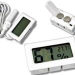 sensor hygrometer with probe