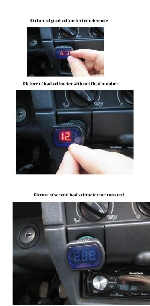 goood and bad voltmeters