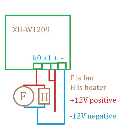 1209 schematic usefulldata com cheap 12v temperature controller xh w1209 with  at n-0.co