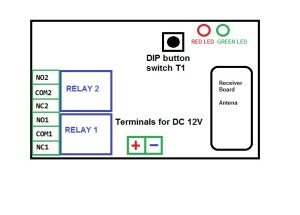 schema-relay-remote controll diagram manual