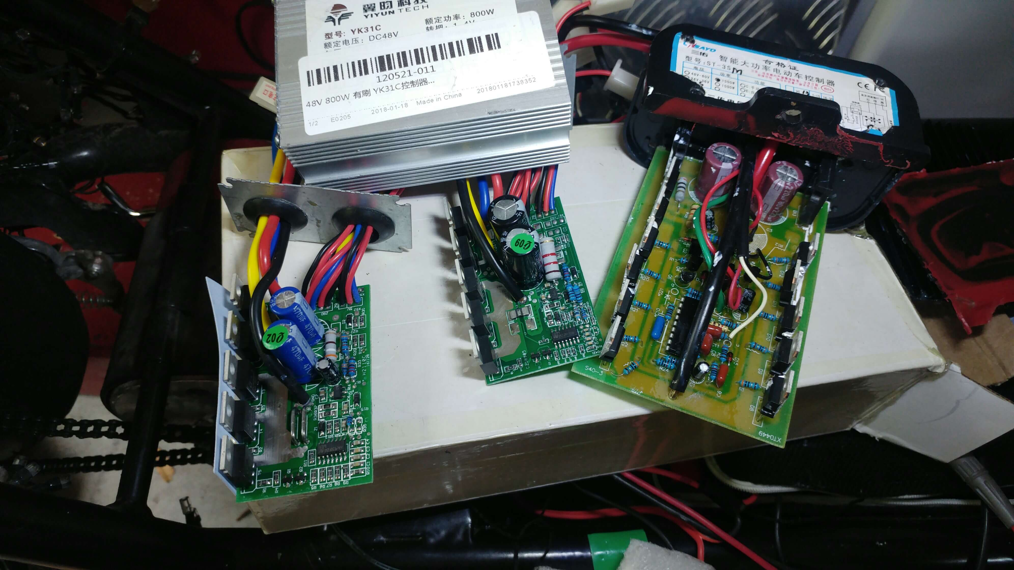 Usefulldata   24V36V YIYUN YK31C Controller for brush