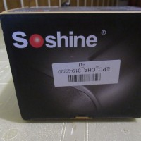 Soshine charger package