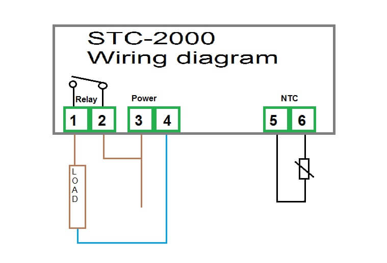 stc-2000 schematic wiring diagram
