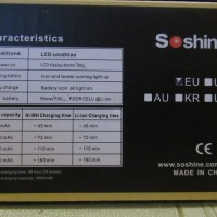 typical information about battery charging cells