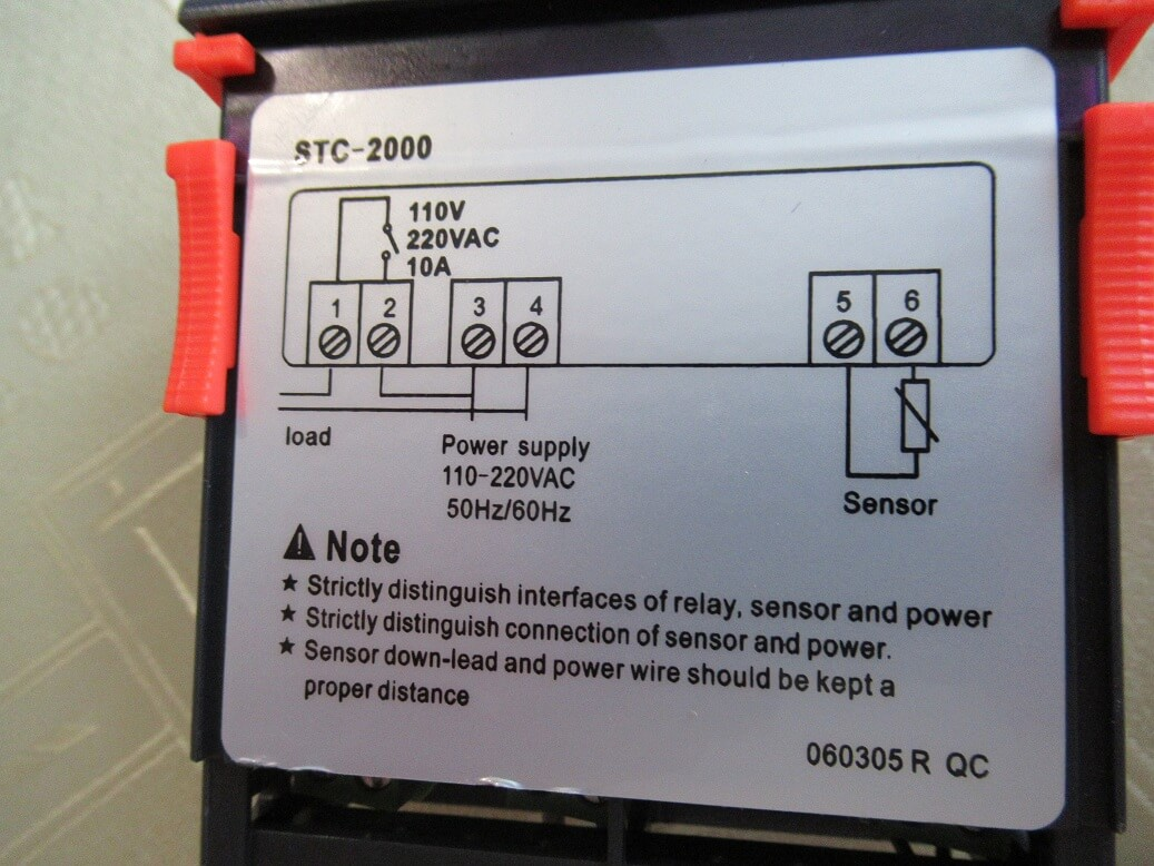 Stc 2000 Temperature Controller Review And Manual 220 Vac Wiring Diagram