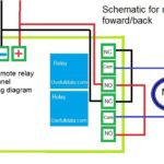 Remote relay for motor diagram