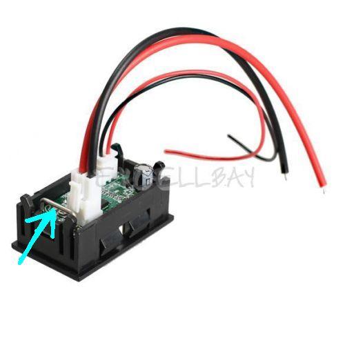 10a shunt digital ammeter
