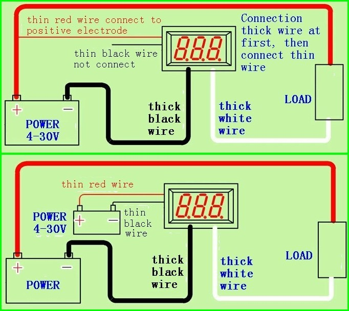 volt amp meter wiring diagram usefulldata.com | ammeter schematic and diagram #9