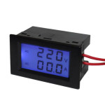 Good AC Volt-ammeter wiring (black version)