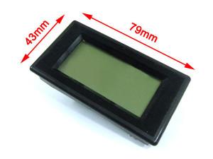 Voltmeter dimensions
