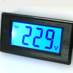 AC digital voltmeter 80-500V