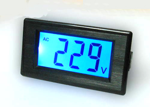 AC digital voltmeter 80-500V – Usefulldata.com on