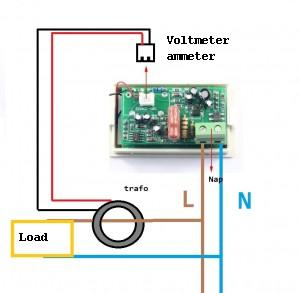 schematic ammter voltemter 300x293