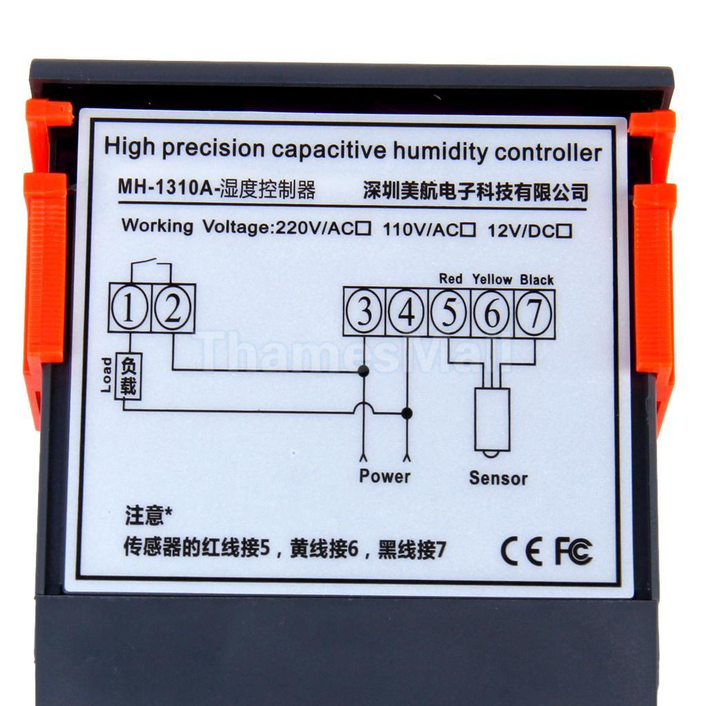 Humidity Controller Schematic Wire Center Temperature Control Circuit Free Electronic Circuits 8085 Projects Usefulldata Com Mh 13001 Review And Complete Guide Rh Model Switch