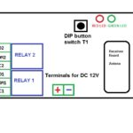 12V Dual channel remote relay  review and complete instruction manual