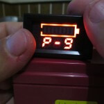 P-9 low voltage alarm