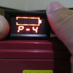 P4 function – setting the optimal voltage level (for a charged battery). In P3, select P2.