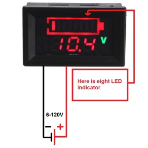 led voltage indicator