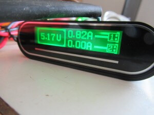 tomo powerbank measure USB output