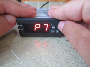 P7- low temperature alarm