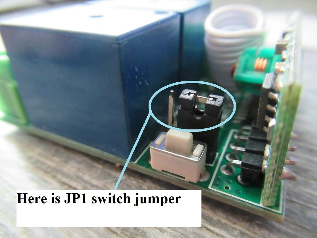 Kaige 12v Dual Channel Remote Relay Board Review Switch Working Jp1 Has Three Pins 123 Use A Small Black Clutch Jumper Here Is Legend How To Connect