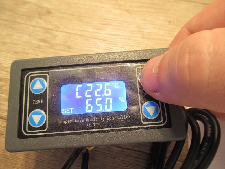XY-WTH1 DC6V-30V 10A Thermostat Temperature Humidity Controller SHT20 Sensor