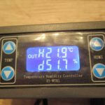XY-WTH1 Temperature and Humidity controller with dual relay output review and manual