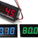 Digital DC Voltmeter 0-100V from china (schematic and diagrams)